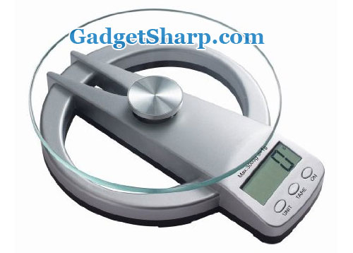 GSI Electronic Digital Portable Circular Fancy Kitchen Scale