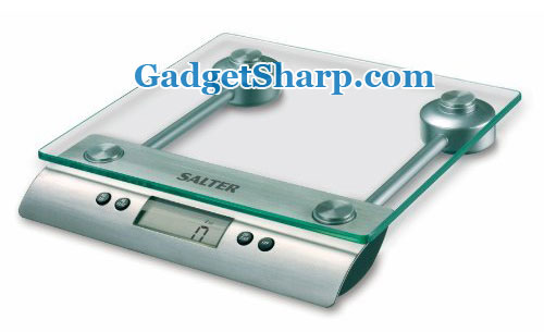 Salter Aquatronic Glass Electronic Kitchen Scale