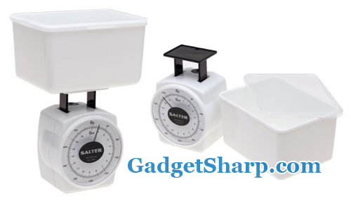 Salter 16-Ounce Food Scale with Storage Container and Lid