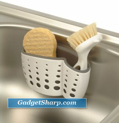 Adjustable Dish Brush and Sponge Holder