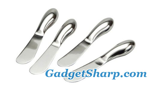 Oneida 4-Piece Cheese Spreader Set