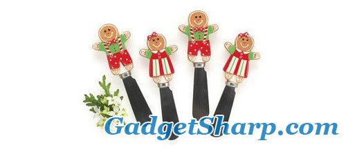 Gingerbread Cheese Spreaders