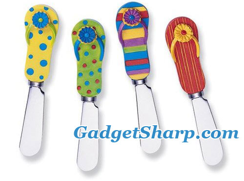 Spreader Set of 4 - Flip Flops