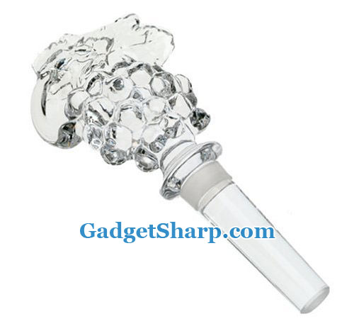 Mikasa Fruit Collection Grape Wine Bottle Stopper