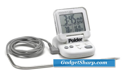 Polder Original Cooking All-In-One Timer/Thermometer