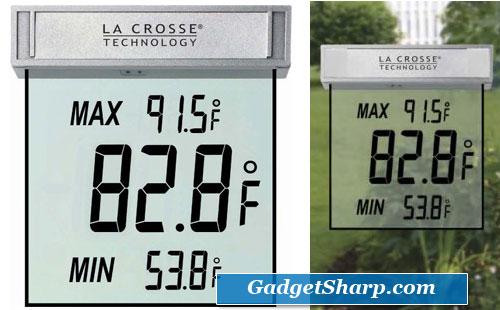 Digital Window Thermometer