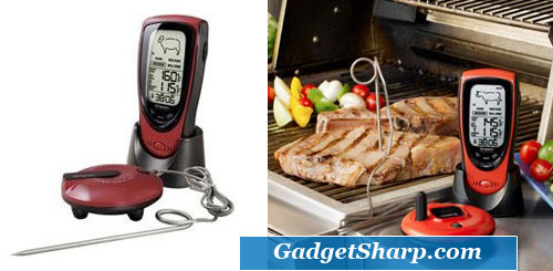 Grill Right Wireless Talking Oven/Barbeque Thermometer