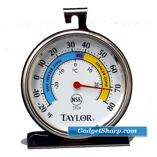 Taylor Food Service Classic Series Freezer-Refrigerator Thermometer