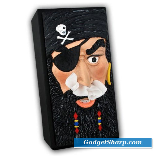 Pirate Tissue Box Cover