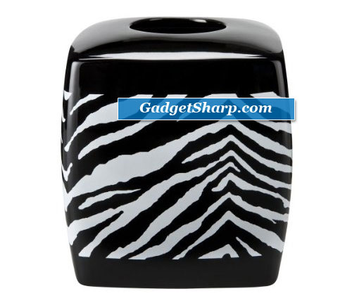 Zebra Tissue Box Cover