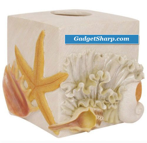 Expressions Sea Breeze Tissue Box Cover