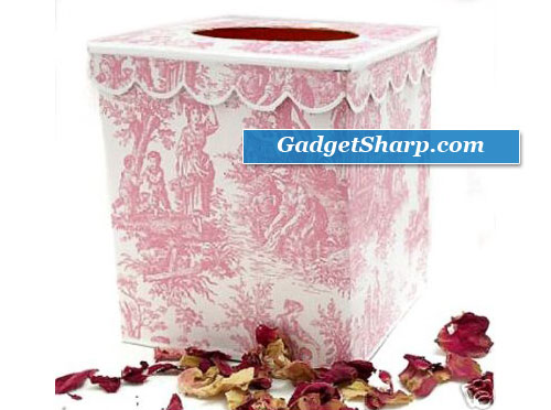 Pink Toilet Tissue Holder