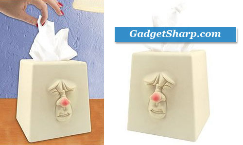Sneezing Tissue Box Holder
