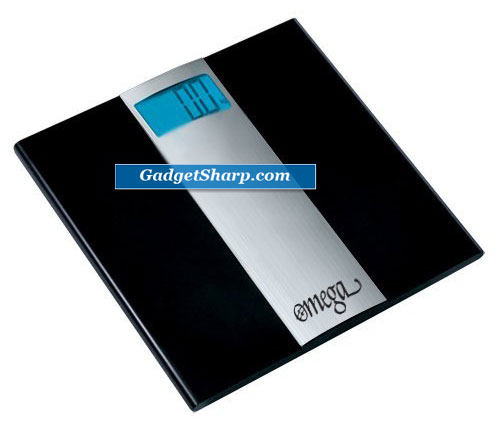 Omega Ultra Thin Digital Bathroom Scale