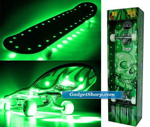 Streetglow LED Skateboard
