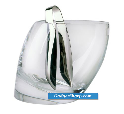 Nambé Tilt Ice Bucket with Tongs