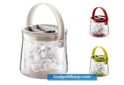 Bodum Cool Double Wall Glass Thermal Ice Bucket