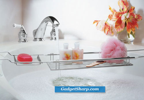 All Expandable Bathtub Caddy