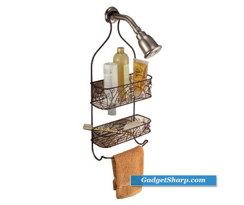 InterDesign Twigz Shower Caddy, Bronze