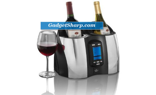The Sharper Image Double Wine Chiller