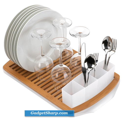 10 Modern And Functional Dish Rack Designs Gadget Sharp