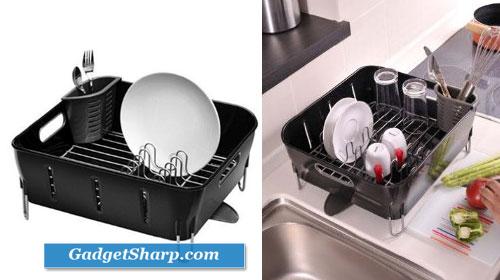 simplehuman Dish Racks, Compact, Plastic