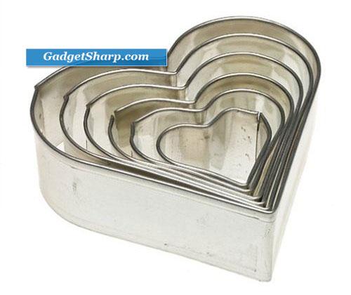 Kaiser Bakeware Heart Cookie Cutter