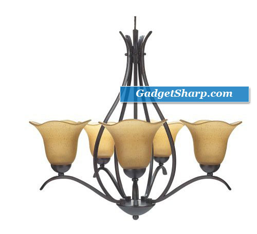 Globe Senneville Five-Light Chandelier