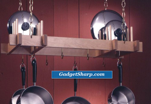 Hanging Pot & Lid Rack