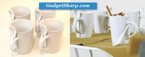 Spoon and Coffee Mug Set