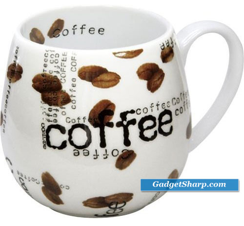 Konitz Coffee Collage Snuggle 14-Ounce Mugs