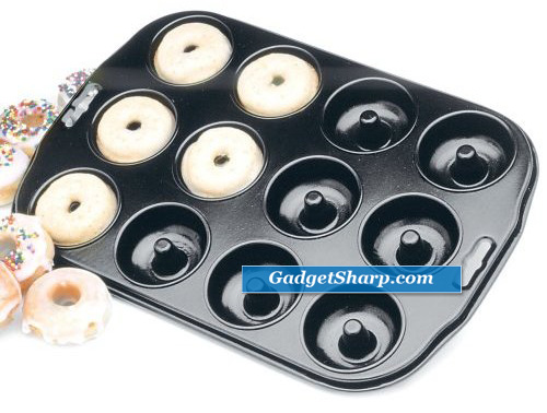 12-Count Nonstick Mini Donut Pan