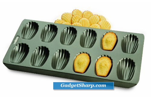 12-Cup Nonstick Madeleine Pan