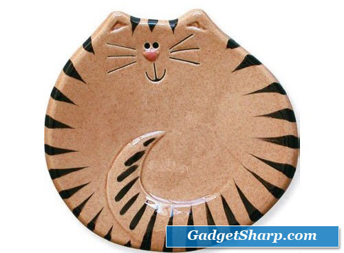 Tiger Cat Spoon Rest