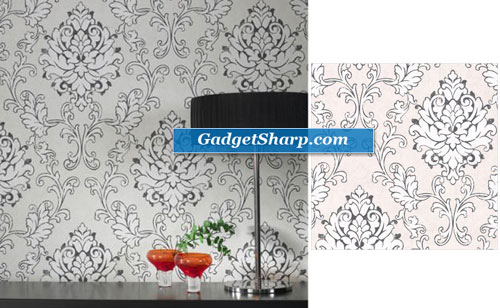 Heritage Charcoal Wallpaper