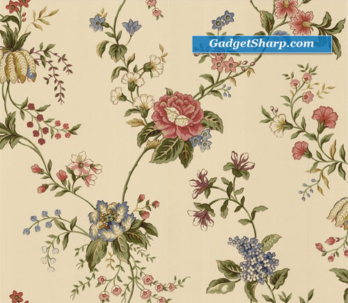 Waverly Floral Trail Wallpaper