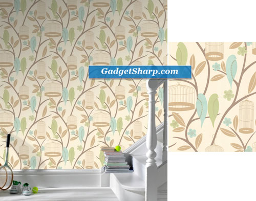 Graham and Brown Birdcage Wallpaper