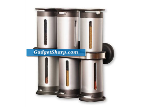 Zero Gravity 8-Piece Magnetic Spice Rack