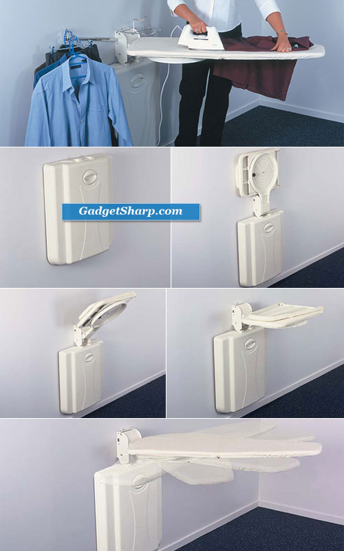 Better LifeStyle Wall-Mounted Ironing Board