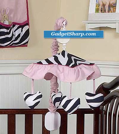 Zebra Musical Mobile
