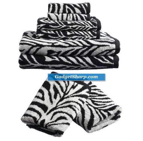 Divatex Home Fashions 6-Piece Jacquard Towel Set