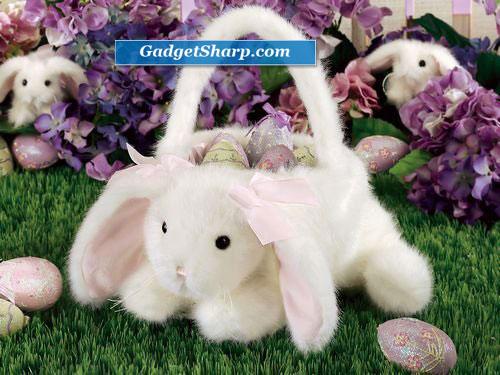 Kids Bunny Easter Basket