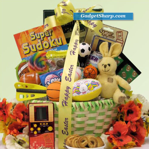 Game Time: Easter Gift Basket for Boys