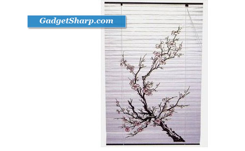 Japanese Shoji Window Blind Plum Blossom