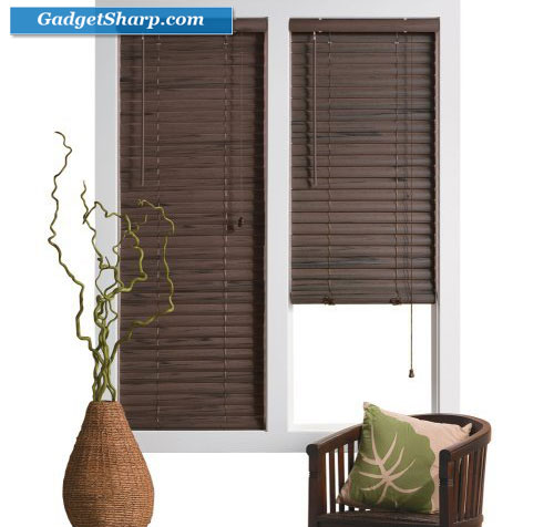 Bali 2 Vinyl Blinds - Wood Grain
