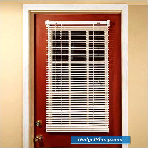 Magnetic Mini Blind / Blinds for Metal Door