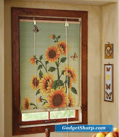 Sunflower Bamboo Shade Blinds