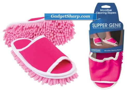 Slipper Genie Microfiber Cleaning Slippers