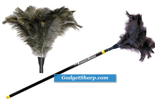 Mr. Long Arm 741 Ostrich Feather Duster with 3 to 6 Foot Extension Pole