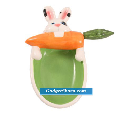 Chisler Bunny Bowl with Spreader